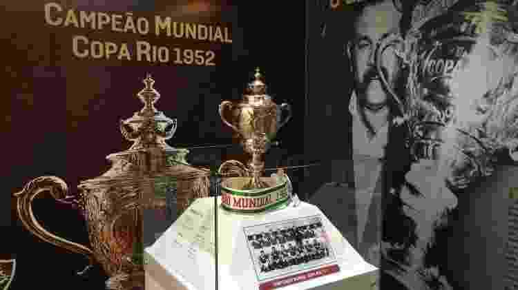 Em 2017, Fluminense fez exposição sobre o título da Copa Rio de 1952, que considera como Mundial - Divulgação / Fluminense - Divulgação / Fluminense