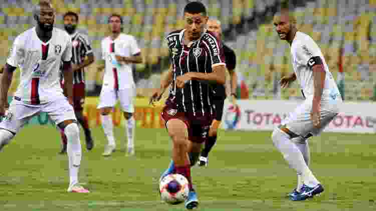 André foi destaque do Fluminense nos primeiros jogos do Carioca, mas perdeu espaço - Mailson Santana/Fluminense FC - Mailson Santana/Fluminense FC