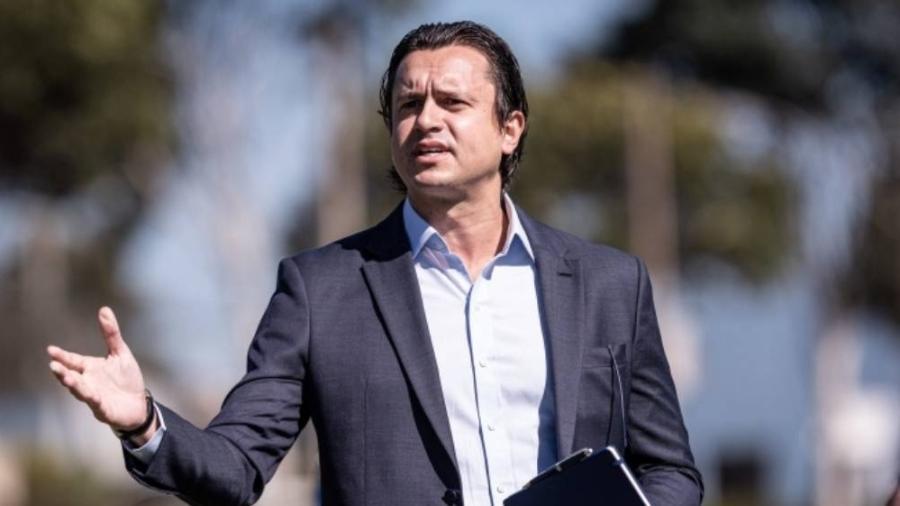 Sérgio Santos Rodrigues criticou grupo que pede sua destituição do cargo de presidente do Cruzeiro - Bruno Haddad/Cruzeiro
