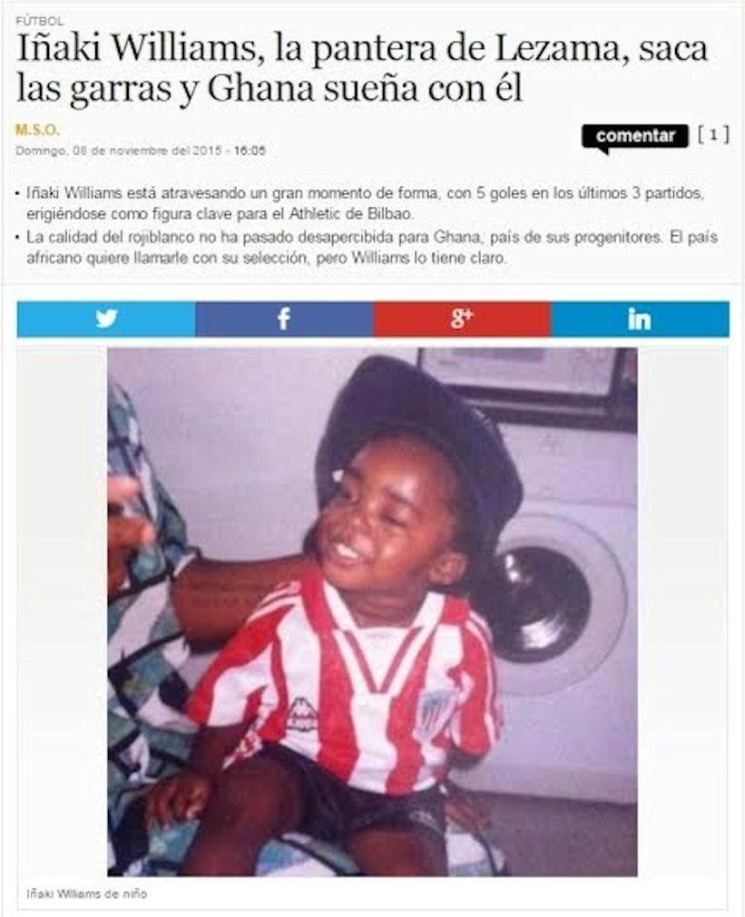 """Iñaki Wiliams tem o apelido de """"Pantera"""" dado pela imprensa espanhola"""