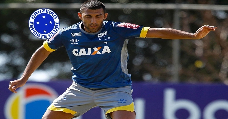 Montagem - Ramón Ábila (atacante) - Do Huracán (ARG) para o Cruzeiro