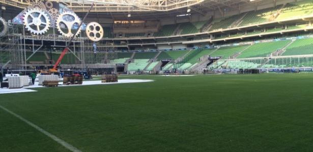 Construtora classificou como aloprada a execução do Palmeiras