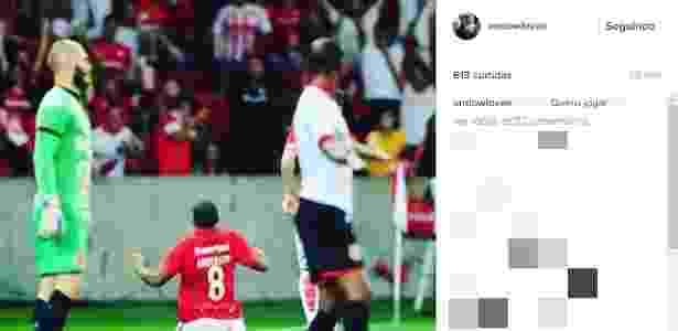 8a02318ee0 Anderson pede nova chance ao Inter pelo Instagram