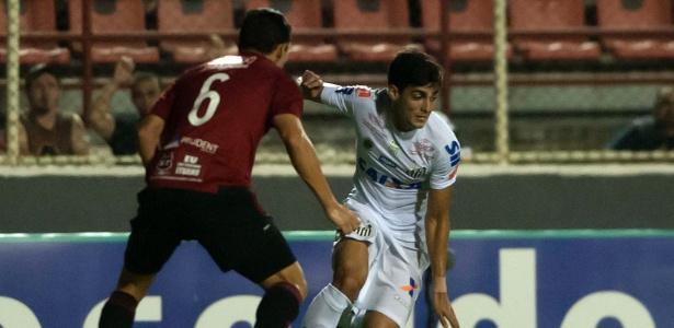 Léo Cittadini levou uma pancada e precisou ser substituído contra o Ituano
