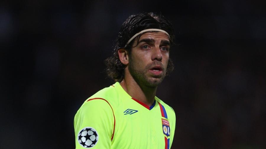 Juninho Pernambucano, na época em que jogava no Lyon - Michael Steele/Getty Images