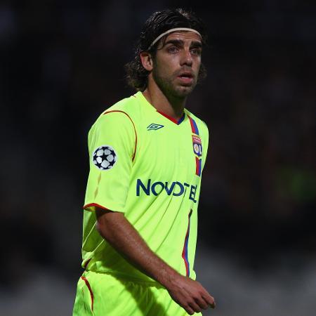 Juninho Pernambucano na época em que jogava no Lyon - Michael Steele/Getty Images