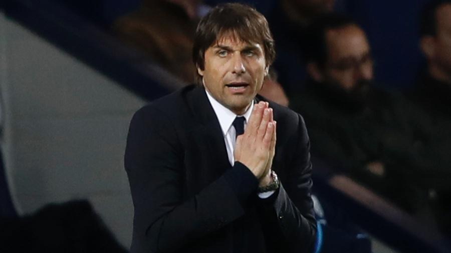 Antonio Conte optou por uma escalação diferente contra West Bromwich - Reuters / Carl Recine