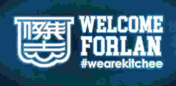 Forlán é anunciado como reforço do Kitchee, de Hong Kong - Dibulgação/Kitchee - Dibulgação/Kitchee