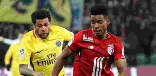 Thiago Mendes (à dir.) atuou em 55 partidas no Lille e marcou 4 gols - REUTERS
