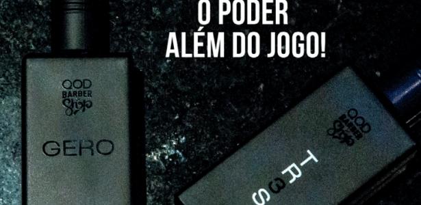 Perfumes com a marca de Pedro Geromel, zagueiro do Grêmio