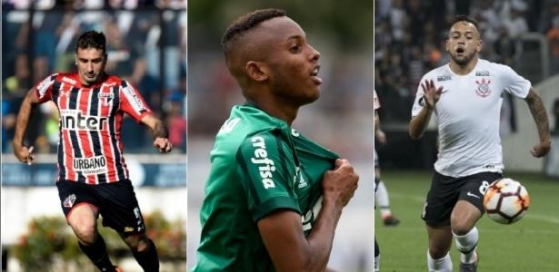 Pratto, Fernando e Maycon foram vendidos por São Paulo, Palmeiras e Corinthians