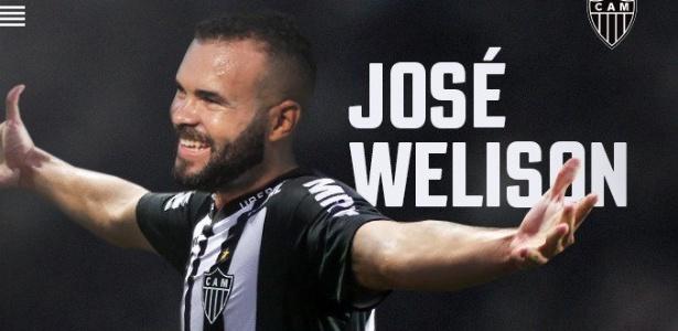 Atlético-MG confirmou a contratação de José Welison