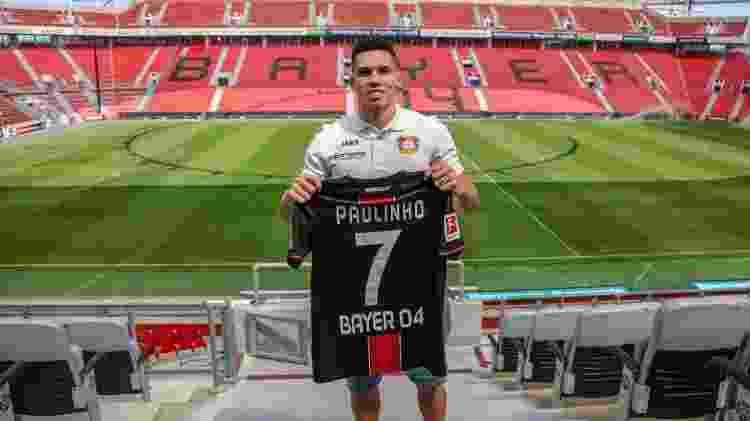 Paulinho foi vendido ano passado pelo Vasco ao Bayer Leverkusen por cerca de R$ 76 milhões - Divulgação