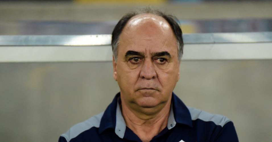 Marcelo Oliveira, técnico do Fluminense, durante o jogo contra o Bahia