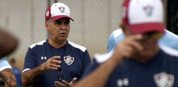 Marcelo Oliveira, técnico do Fluminense, analisa performance do time - MAILSON SANTANA/FLUMINENSE FC