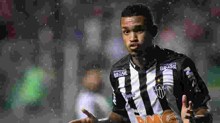 Alerrandro é o vice-artilheiro do Atlético-MG na temporada e tem multa multimilionária  - Marcelo Alvarenga/AGIF