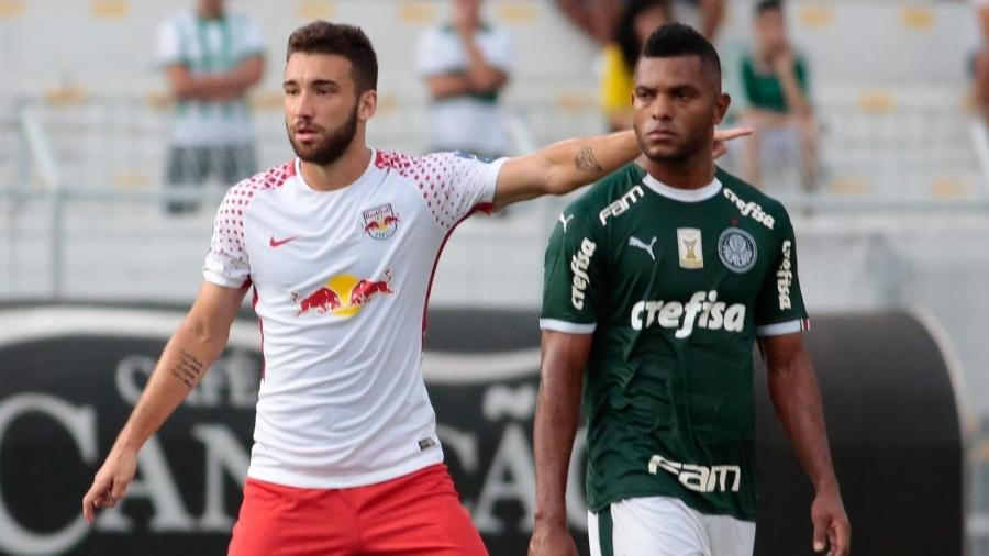 Léo Ortiz chegou ao Red Bull Brasil emprestado pelo Inter no começo do ano; meta é conseguir sequência de bons jogos - Marcello Zambrana/Divulgação
