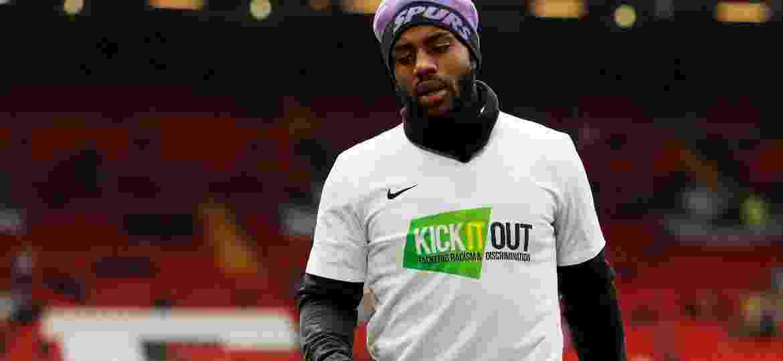 Danny Rose, lateral do Tottenham e da seleção inglesa, foi alvo dos torcedores - Action Images via Reuters/Paul Childs