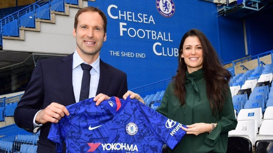 Petr Cech retornou ao Chelsea em junho do ano passado após aposentadoria - Divulgação/Chelsea