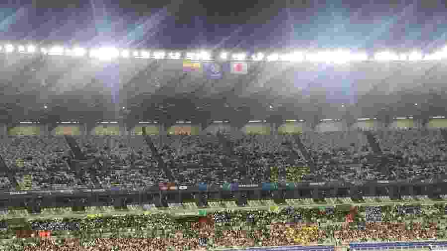 Mineirão recebeu torcedores de Japão e Equador para jogo da Copa América - UOL Esporte