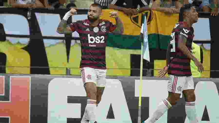 Cria do Santos, Gabigol é esperança de gols do Flamengo  - Alexandre Vidal / Flamengo