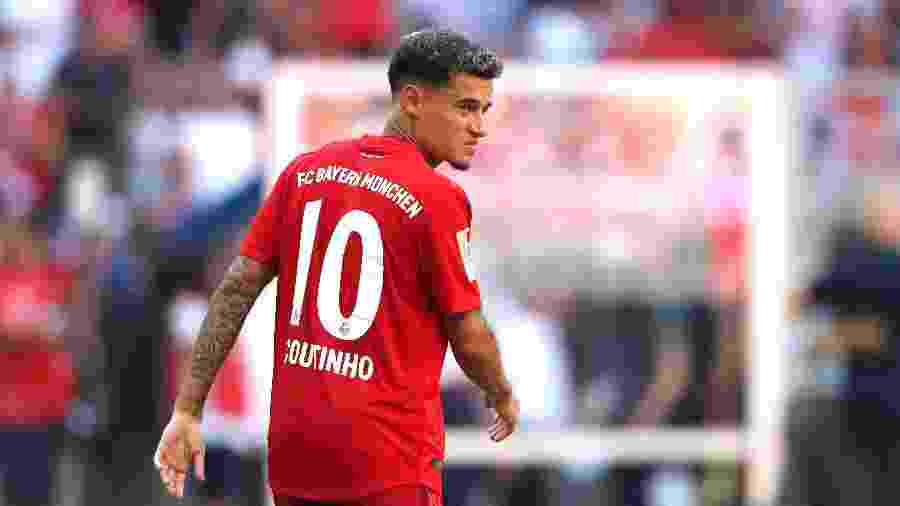 Philippe Coutinho atualmente defende o Bayern de Munique - Alexander Hassenstein/Bongarts/Getty Images