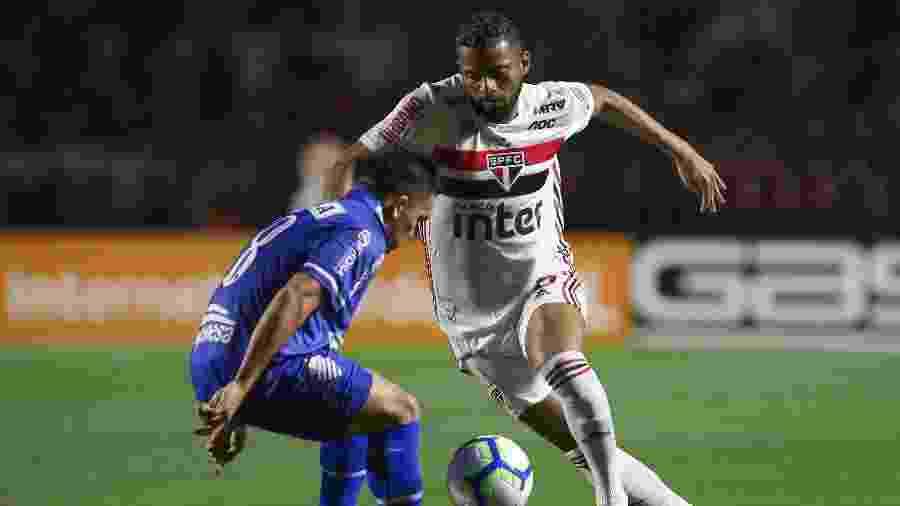 No primeiro turno, o São Paulo apenas empatou com o CSA mesmo jogando no Morumbi - Marcello Zambrana/AGIF