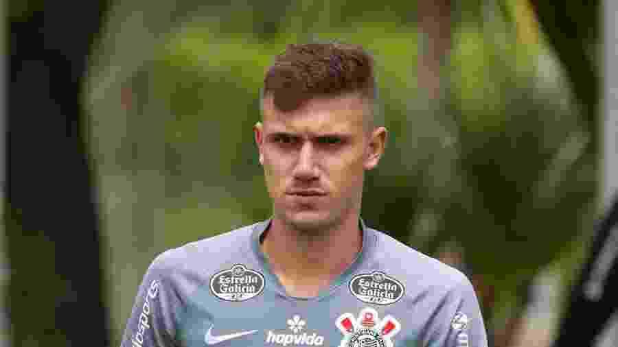 Lucas Piton foi promovido pelo técnico Tiago Nunes e virou titular da lateral-esquerda do Corinthians - Daniel Augusto Jr./Agência Corinthians