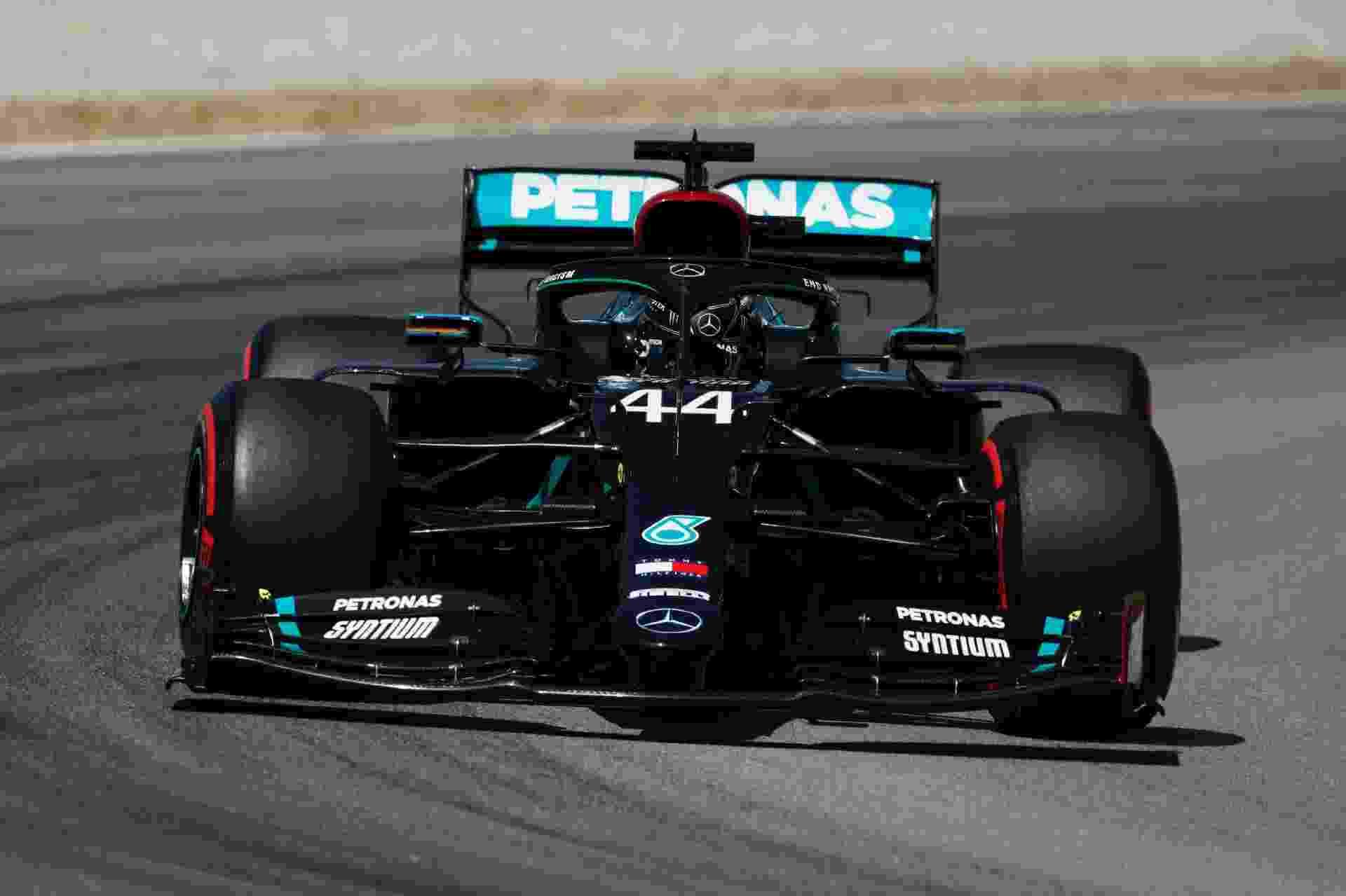 Lewis Hamilton durante os treinos para o Grande Premio da Espanha - Pool/2020 Pool