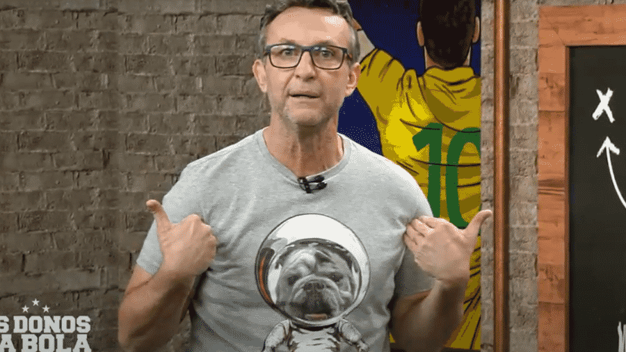 Neto volta criticar Lazaroni por não ter sido convocado paraa Copa do Mundo de 1990 - Reprodução/Band