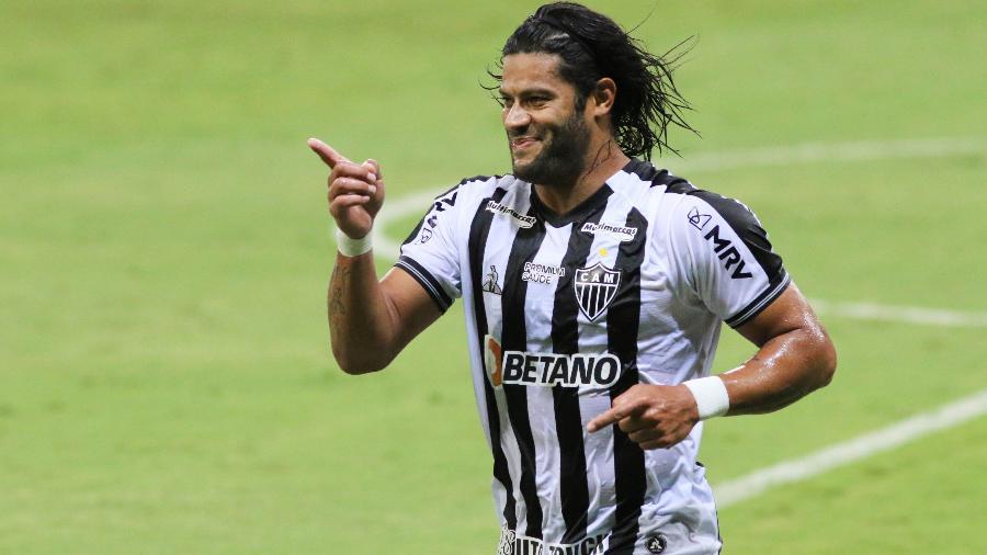 Hulk deixa o time titular do Galo por opção do treinador - Fernando Moreno/AGIF