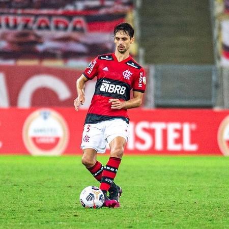 Rodrigo Caio divide méritos com os atacantes em melhora defensiva do Flamengo