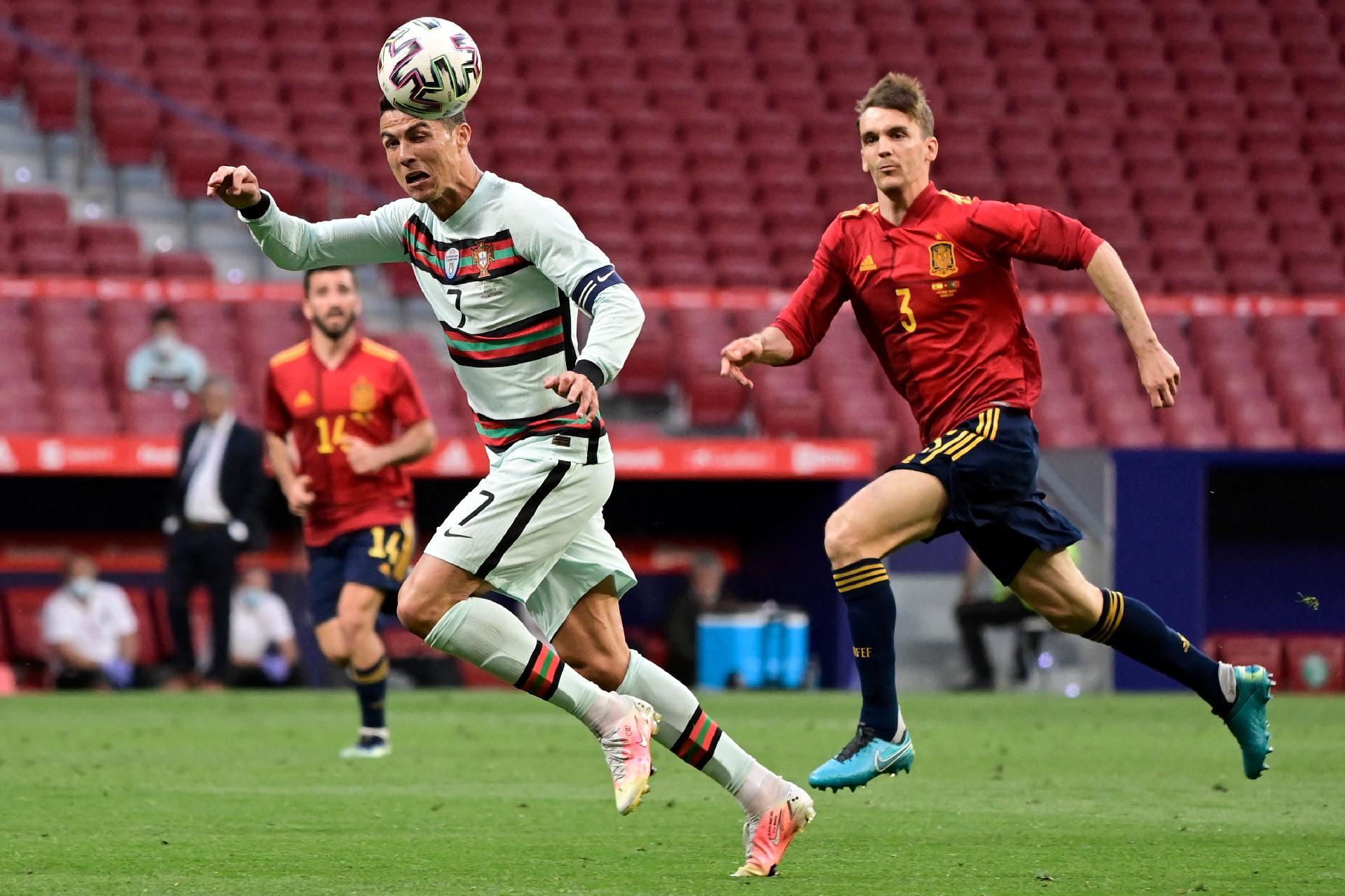 Espanha E Portugal Ficam No 0 A 0 Em Amistoso De Luxo