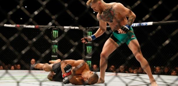 José Aldo recebeu valor milionário mesmo tendo lutado apenas 13 segundos - Christian Petersen/Zuffa LLC/Getty Images