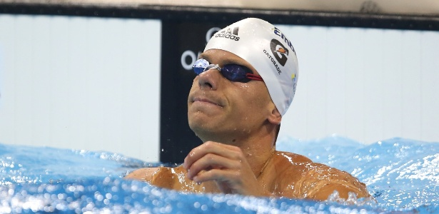 Cesar Cielo, fora das piscinas na Olimpíada, está em vias de acertar com o SporTV - Satiro Sodré/SSPress