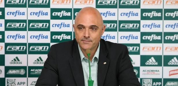 Presidente do Palmeiras e demais paulistas não quiseram discutir sobre a CBF