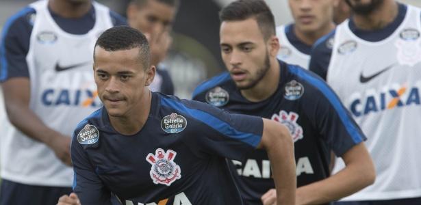 Luidy em treinamento do Corinthians: deve ser emprestado ainda nesta semana