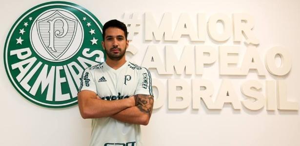 Luan chegou ao Palmeiras por R$ 10 milhões que foram bancados pela patrocinadora