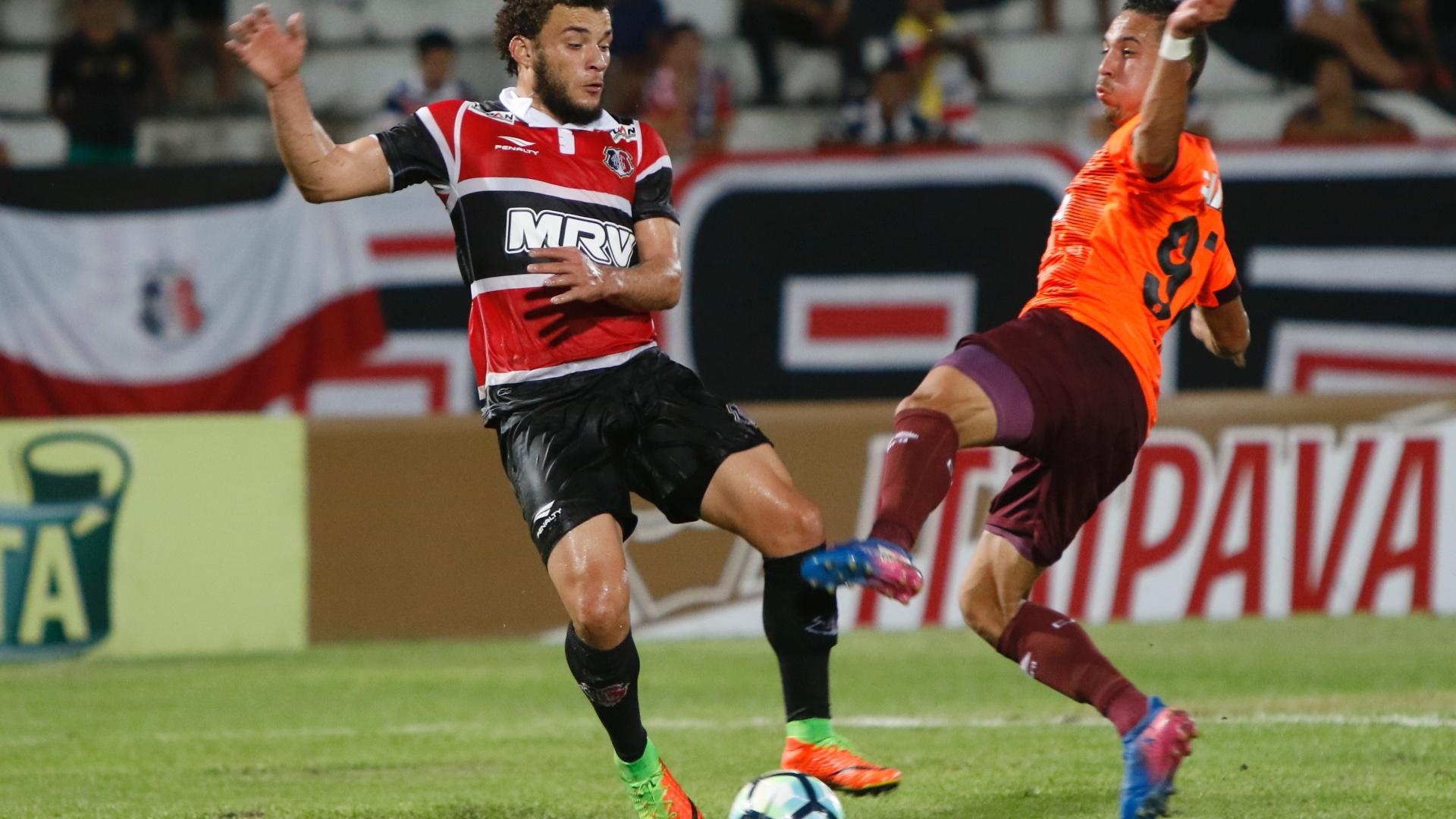 Santa Cruz e Atlético-PR se enfrentam pela Copa do Brasil 2017 no Estádio do Arruda, no Recife