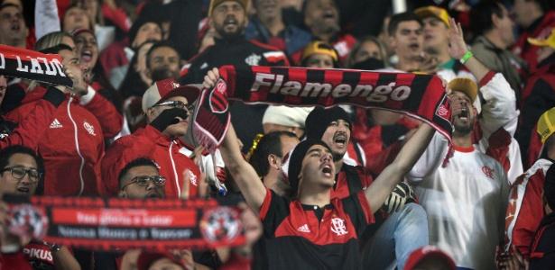 A torcida do Flamengo sonha com a conquista da Copa Libertadores pela segunda vez
