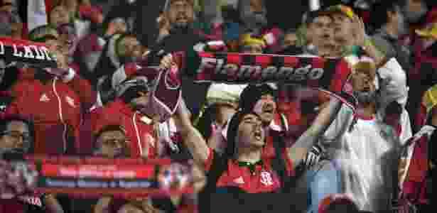 A torcida do Flamengo sonha com a conquista da Copa Libertadores pela segunda vez - Juan Ignacio Roncoroni/EFE