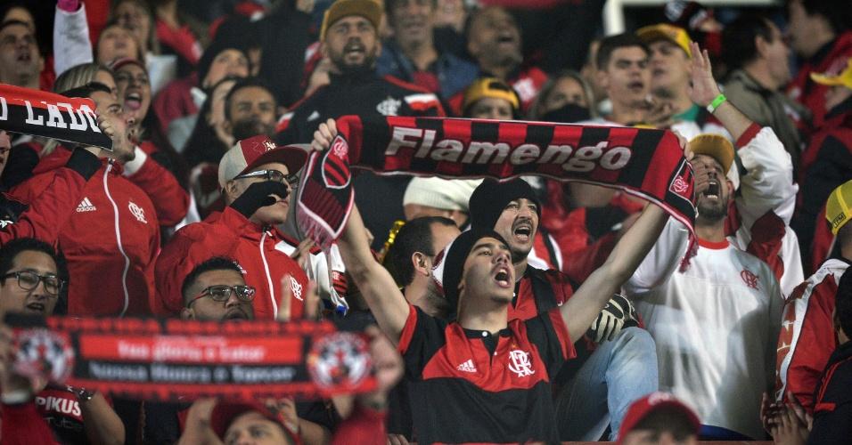 Torcida do Flamengo vai a Buenos Aires apoiar o clube contra o San Lorenzo