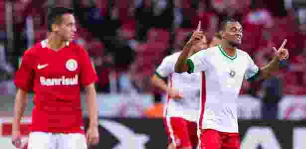 Diones abriu o placar para o Boa Esporte contra o Internacional - Jeferson Guareze/AGIF - Jeferson Guareze/AGIF