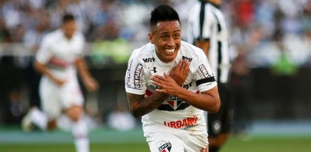 Cueva disputa a última partida pelo São Paulo antes de viajar para a repescagem da Copa do Mundo
