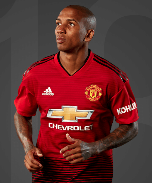 Ashley Young, lateral do Manchester United