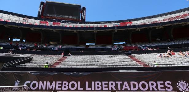 Final da Libertadores ainda não tem nova data definida para acontecer  - REUTERS/Marcos Brindicci