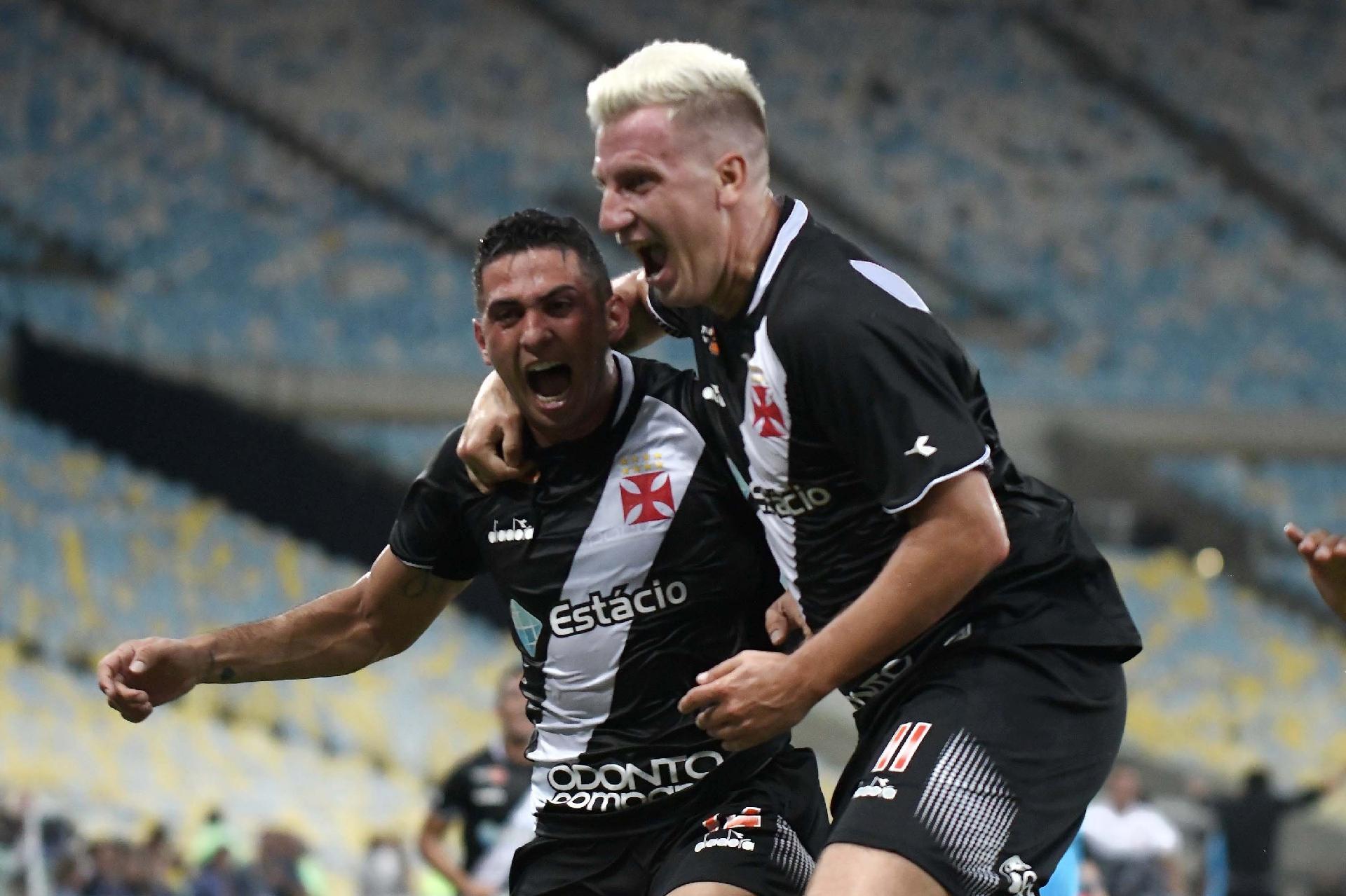 5c1e5fb27a Vasco vence Fluminense no Maracanã e conquista Taça Guanabara - Esporte -  BOL