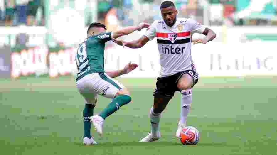 São Paulo e Palmeiras se enfrentam no Morumbi, neste sábado, às 19h - Alan Morici/Agif