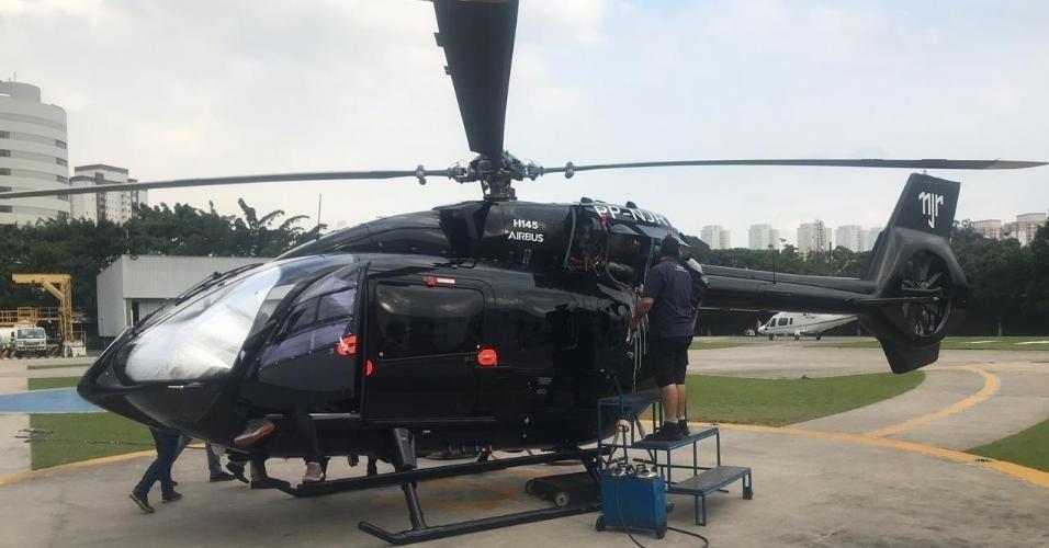 Helicóptero do Neymar 1