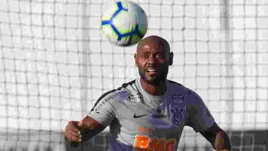 Atacante Vagner Love participa de treino do Corinthians no CT Joaquim Grava - Daniel Augusto Jr/Ag. Corinthians